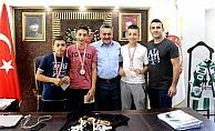 Muay Thai sporcuları Erzincan'dan madalyayla döndü