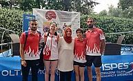 Yenimahalleli sporcular İtalya'dan dereceyle döndü