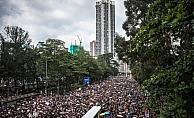 AA protestoların sürdüğü Hong Kong'da