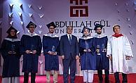 Abdullah Gül Üniversitesi Mezuniyet Töreni