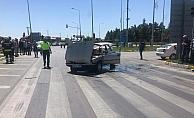 Akşehir'de trafik kazası: 3 yaralı