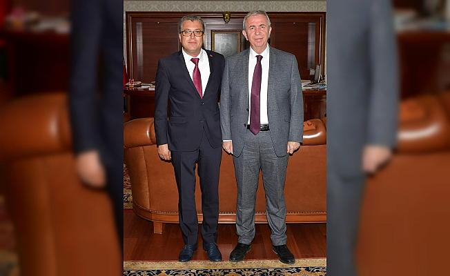 Ankara Büyükşehir Belediye Başkanı Yavaş'a ziyaret