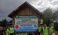 Beynam Ormanı'nda çevre temizliği yapıldı