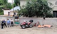 Duvara çarpan ATV aracının sürücüsü öldü