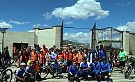 Görme engelliler için bisiklet turu