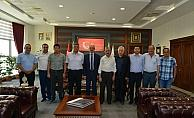 İş dünyasından Rektör Karakaya'ya ziyaret
