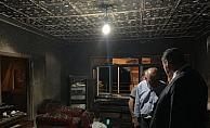 Kahramankazan Belediyesi'nden evi yanan vatandaşa destek