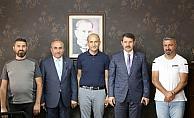 Sivas Valisi Salih Ayhan'dan AA'ya ziyaret