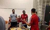 Sivasspor'da Vieira için sürpriz doğum günü kutlaması