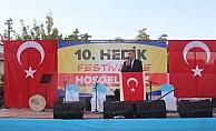 Akpınar Hedik Festivali'nin 10'uncusu düzenlendi