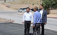 Başkan Özdemir, belediye çalışmalarını inceledi
