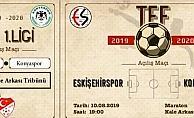 Eskişehirspor'dan nostaljik biletli sezon açılışı