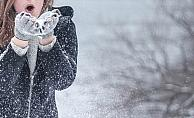 Kar taneleriyle plastik parçacıklar da yağıyor