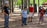 Özel gereksinimli çocuklar piknikte buluştu