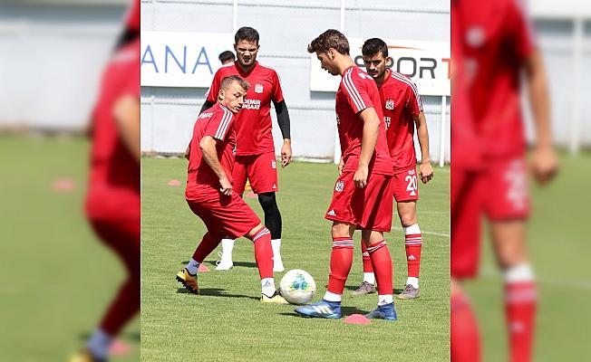 Sivasspor'da Beşiktaş maçı hazırlıkları