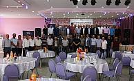 STSO yönetimi Koyulhisar ilçesinde üyeleriyle buluştu