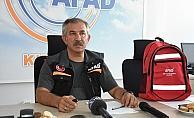 Kırşehir'de afet ve acil durum çantası tanıtıldı