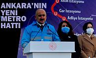 AKM-GAR-Kızılay metrosu temeli atıldı