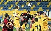 Ankaragücü Galatasaray#039;a acımadı