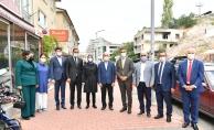 Milletvekili Çam ve Başkan Köse'den Mamak Esnafına Ziyaret