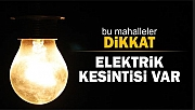 Elektrik Kesintisi (23/05/2018)