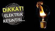 Elektrik Kesintisi (18/08/18)
