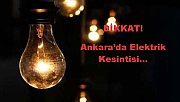 Elektrik Kesintisi (13/12/2018)