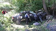 Yozgat'ta otomobil dere yatağına devrildi: 5 yaralı