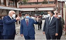 Vali Şahin Kızılcahamam'da incelemelerde bulundu