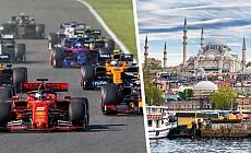 F1 takımlarının İstanbul'da tanıtımı yapıldı
