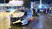 Başkentte zincirleme trafik kazası: 2 kişi yaralandı