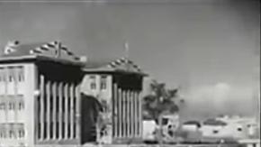 1933 yılında Kızılay'da çekilmiş bir kayıt...