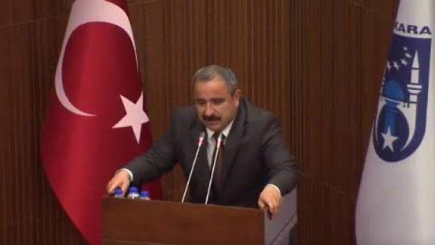 Mansur Yavaş, Sinan Burhan'a cevap veremedi!
