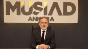MÜSİAD ANKARA ŞUBE BAŞKANI ERDAL'DAN ÖZHASEKİ'YE DESTEK